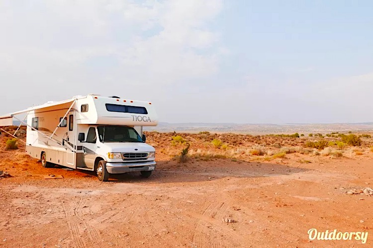 burning man rv rental