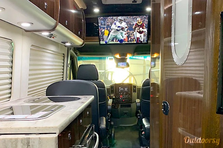 luxury rv rental dallas tx