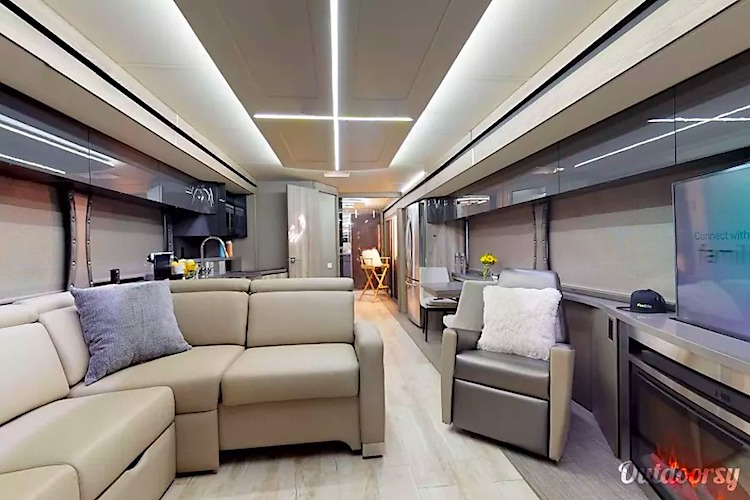 luxury rv rental los angeles