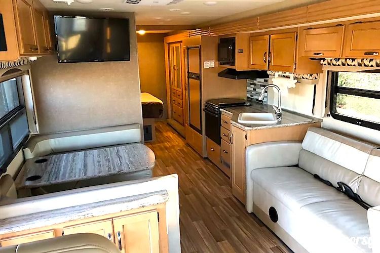 motorhome rental dallas tx