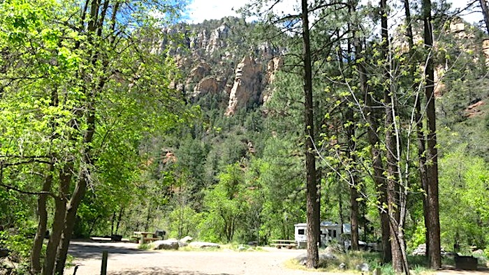 pine flat campground sedona