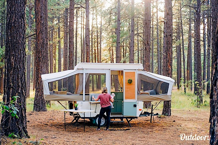 pop up camper weekly rental