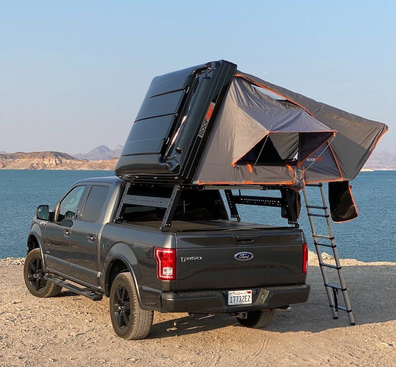 roof top tent camper rental las vegas