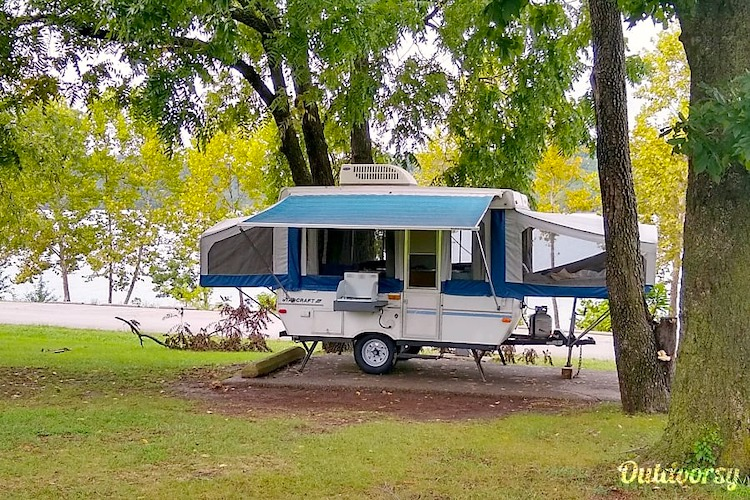 small pop up camper rental