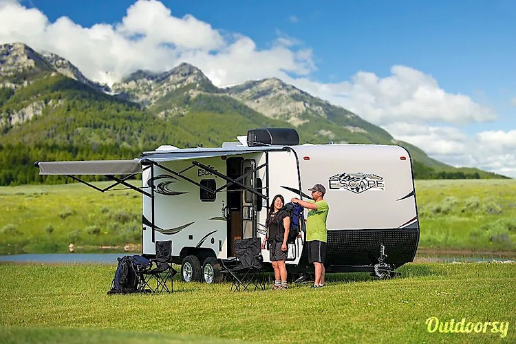 travel trailer small rv rental