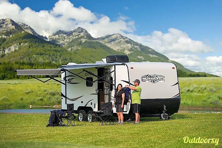 travel trailer small rv rental