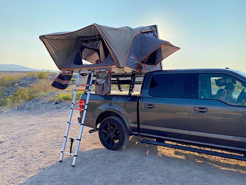 truck camper rental las vegas