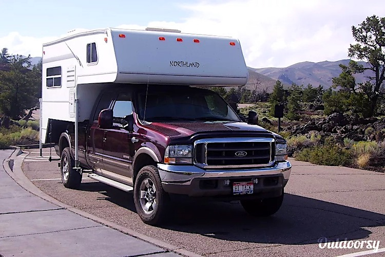truck camper rental los angeles CA