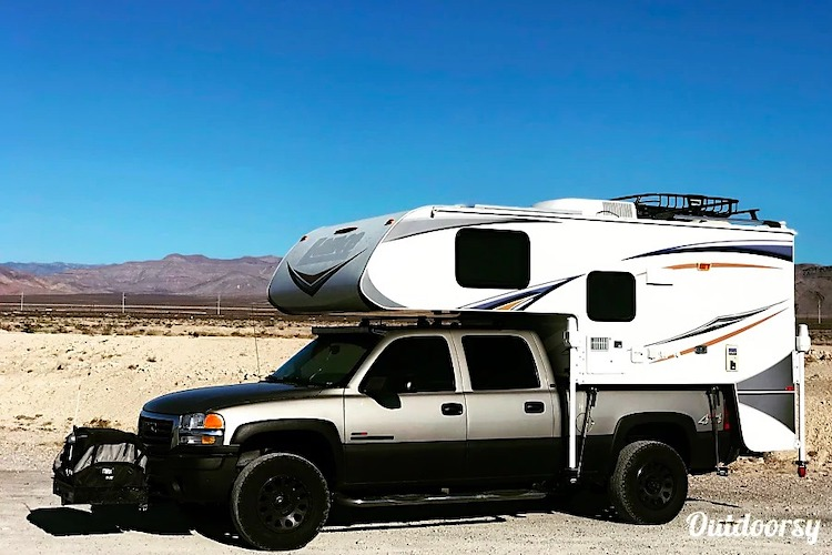 truck camper small rv rental