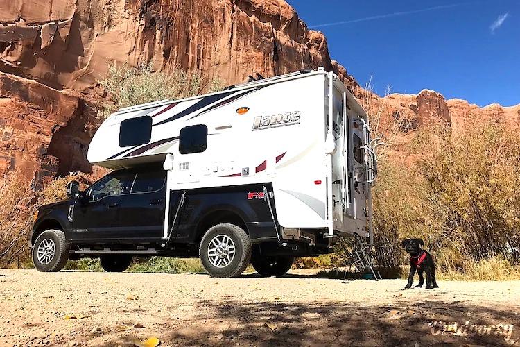 truck camper weekly rental