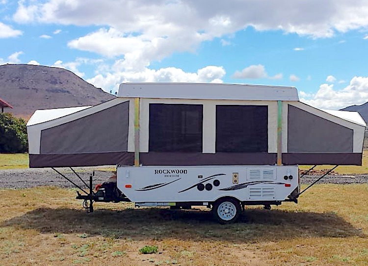 pop up camper rental cost