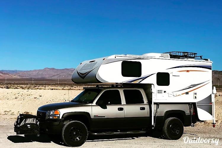 truck camper rental cost