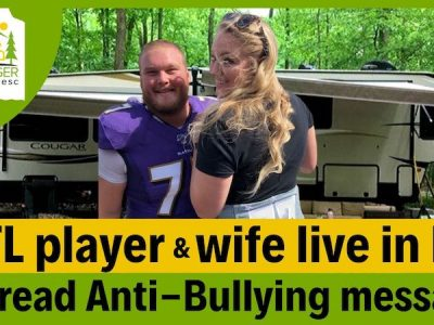 NFL Player Brad & Nikki Bozeman Full Time RVers Who Fight Bullying