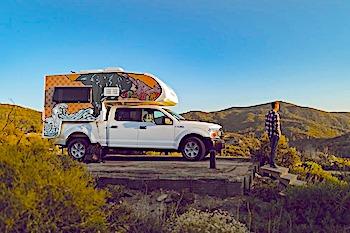 escape campervans truck camper exterior