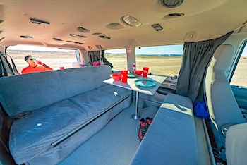 mavericks escape campervan interior