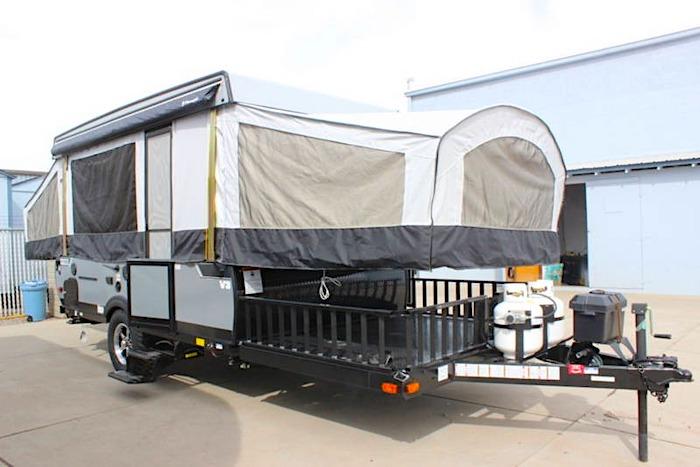 2020 VIKING V-TREC V3 Popup Camper toy hauler