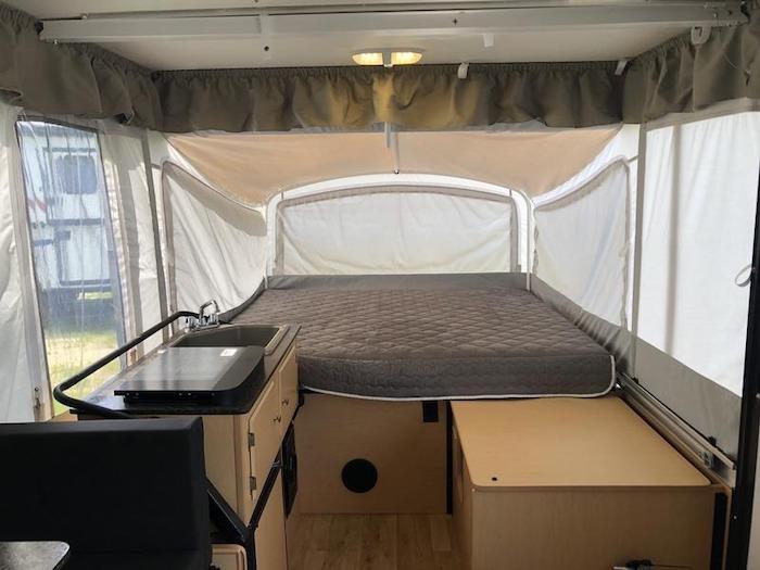 A-Liner Somerset E3 Deck Toy Hauler Popup Camper