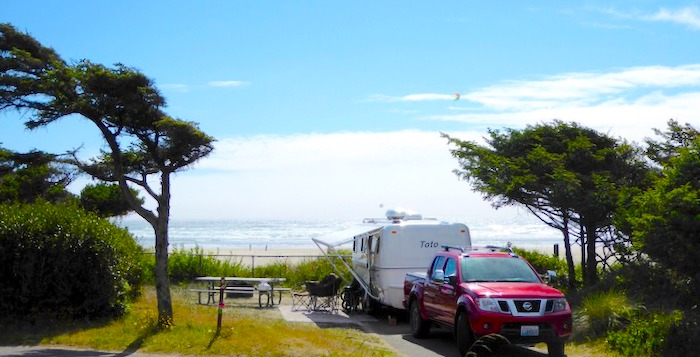 Beachside State Park RV Campground Oregon Coast