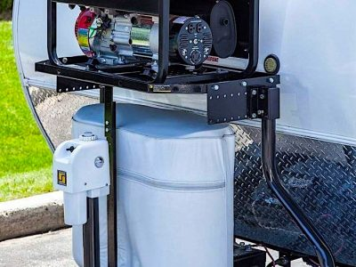Best Generator Mounts for a Travel Trailer