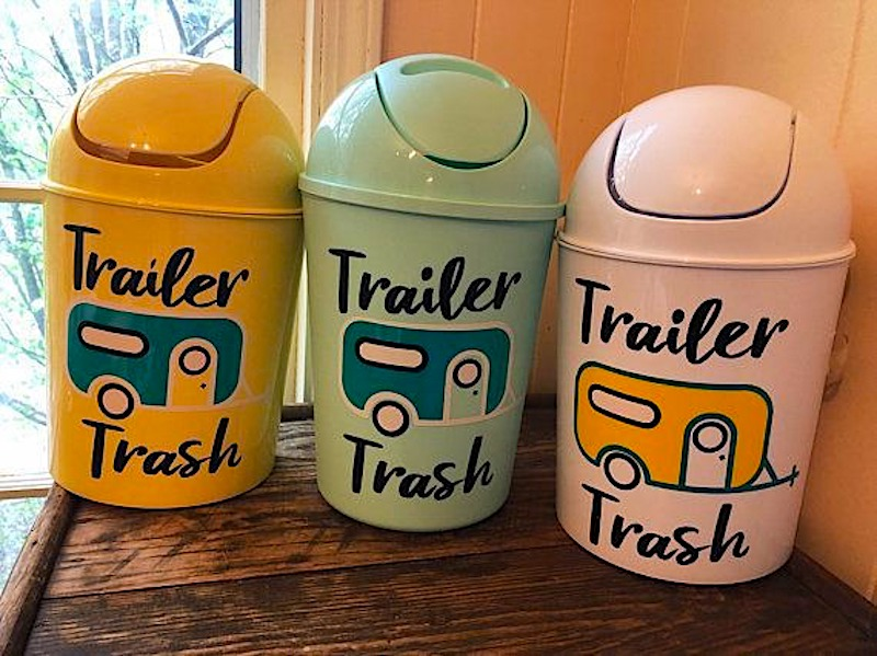 Best RV Trash Cans for Kitchen Bathroom Outdoors