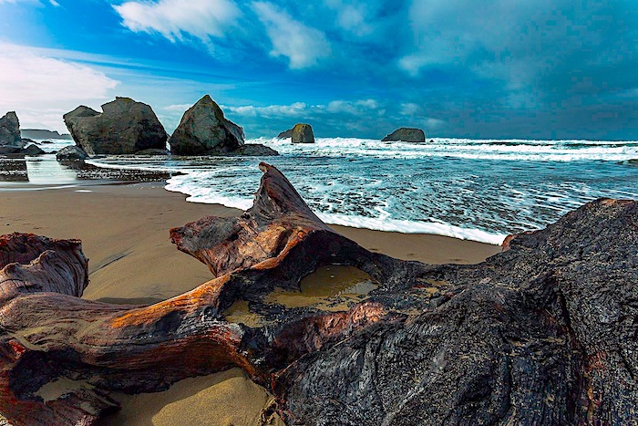 Bullards Beach State Park RV Campgroun Oregon Coast
