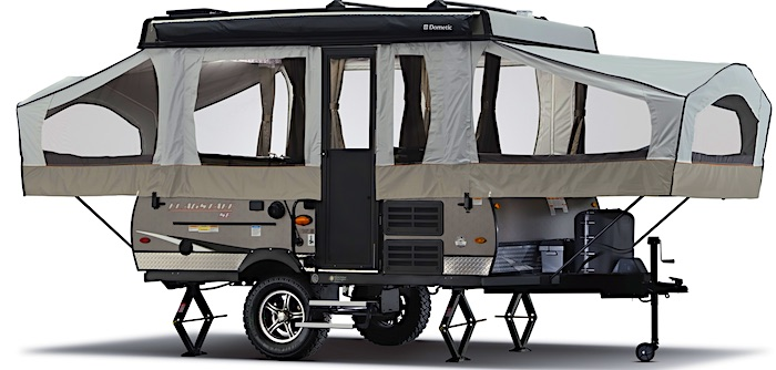 Flagstaff SE Off-road pop up camper