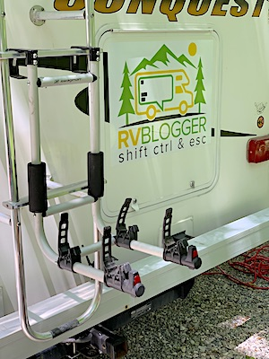 Ladder Mount Bike Rack Gift for rv owner