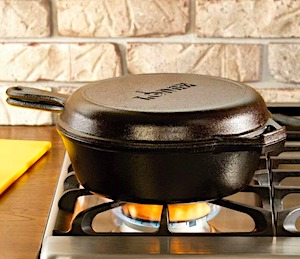 Lodge dutch oven combo cooker