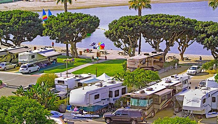 Newport Dunes RV Beach Campground