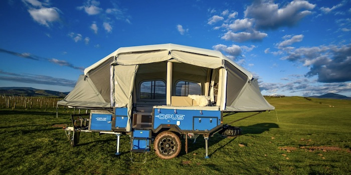 Opus 4 Sleeper Off road popup camper