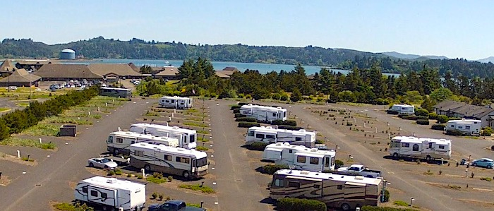 Port of Newport Marina RV Park Oregon Coast Campground