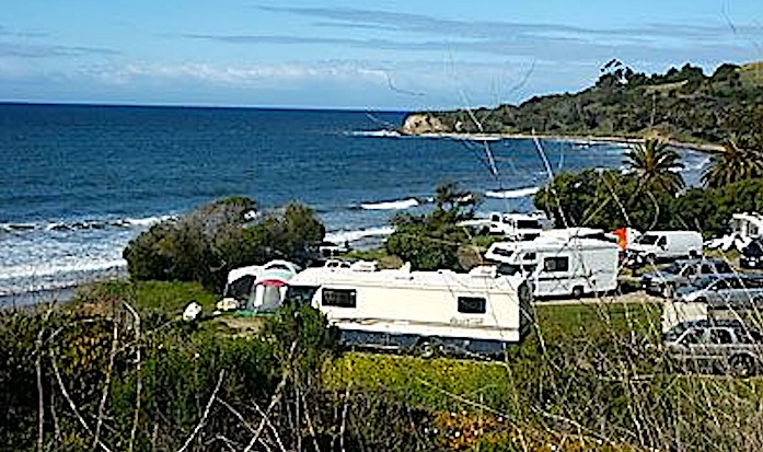 RV Beach Campground Refugio State Beach