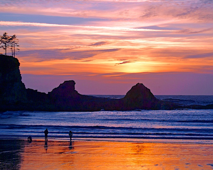 Sunset Bay State Park RV Campground Oregon Coast