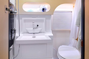 Teardrop Camper with bathroom price