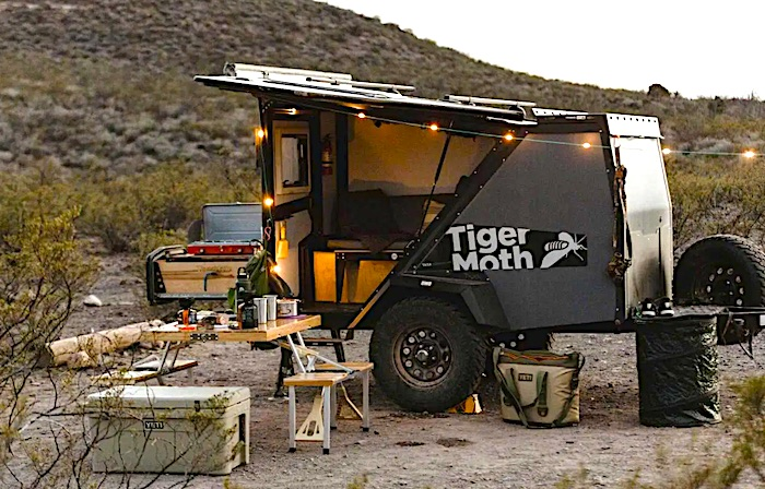 Tiger Moth Off road popup camper