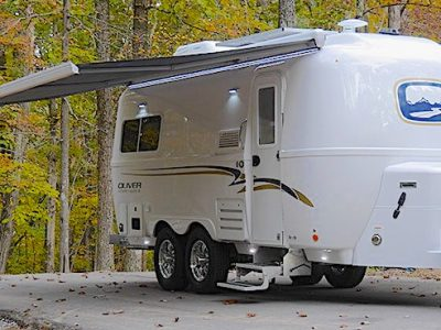 Travel Trailers with King Bed Oliver Legacy Elite II Ext