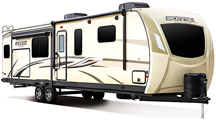 Travel Trailers with King Bed Venture RV-SportTrek Touring STT272VRK