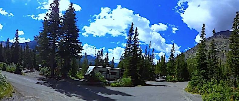 Two Medicine Campground Glacier NP