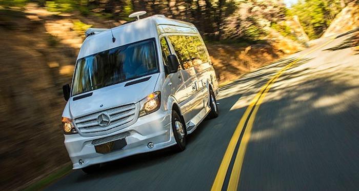 Weekender Sprinter RV stealth off grid camping