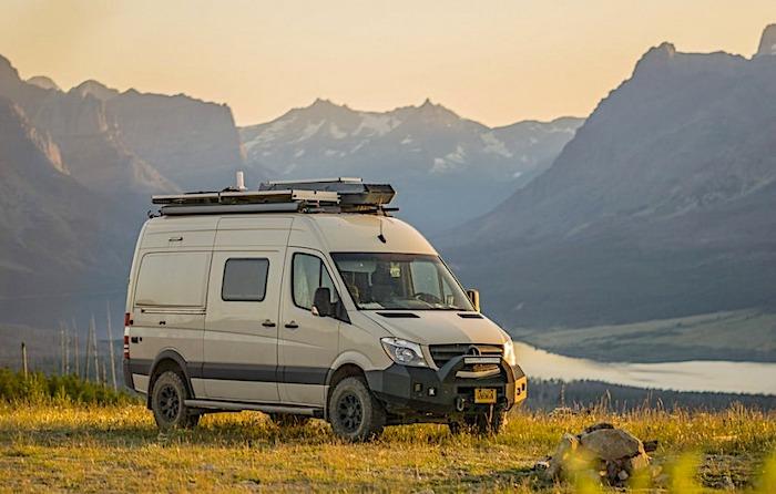 Winnebago Revel 4x4 stealth camper van camping
