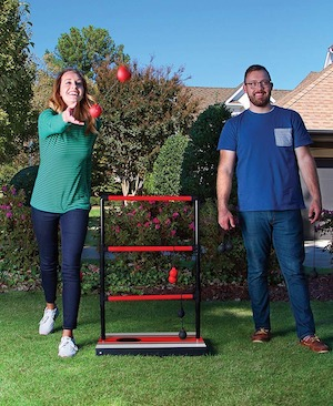 ball toss game gift for RV Campers