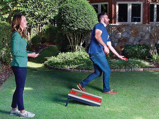 corn hole game gift for campers