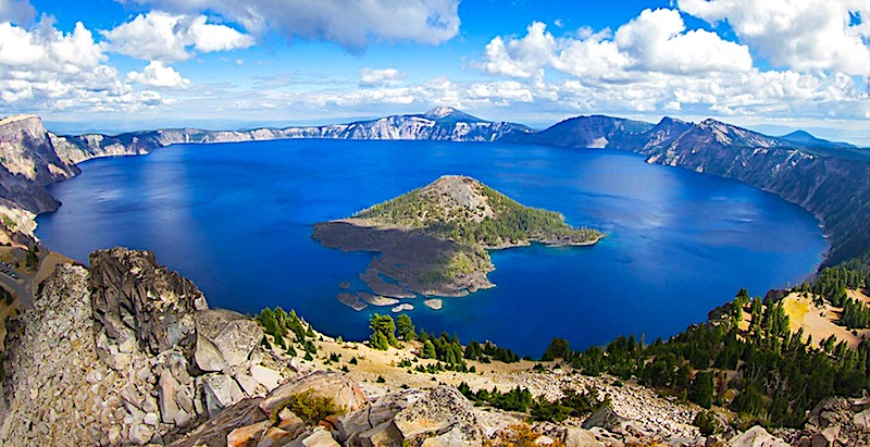 crater lake National park best rv vacations in usa