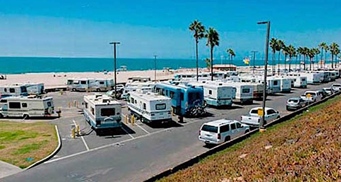 dockweiler state beach rv beach campground