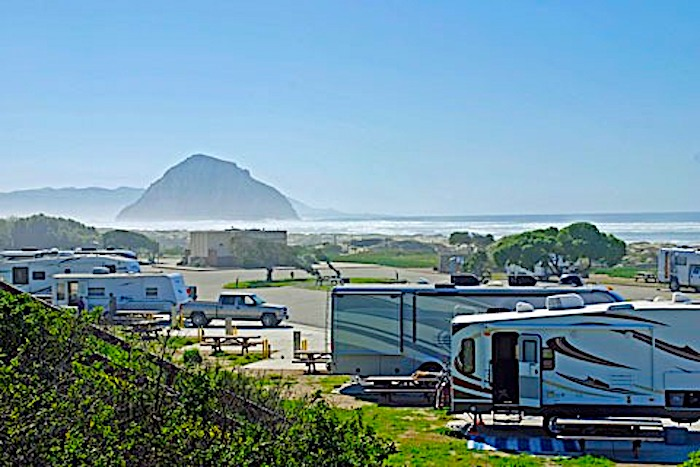 morro strand RV Beach campground