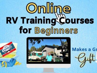 online RV video training classes gift