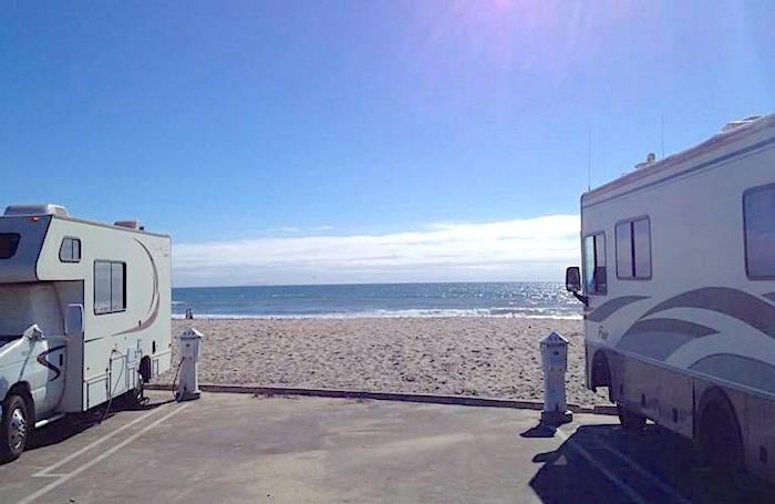 silver strand state beach RV beach campground