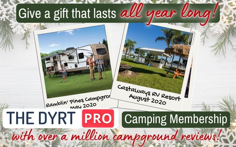 the dyrt pro discount camping membership gift
