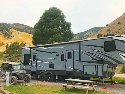 Keystone RV Impact 5th Wheel with a Toy Hauler