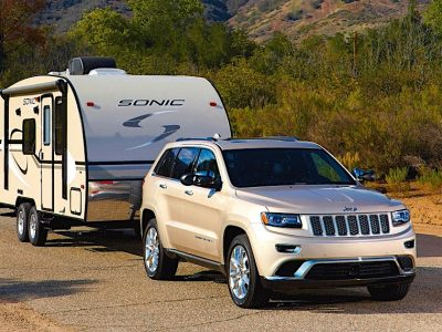 Suv Pulling a travel trailer that weighs under 5000 lbs